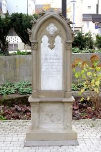"Grabstein ""Johann Philipp Bronner"""