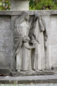 Relief am Sutor-Brunnen